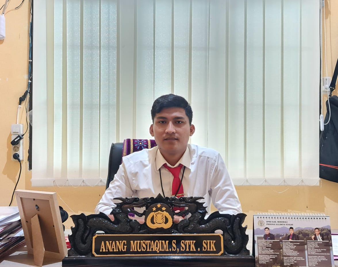 foto: Iptu. Anang Mustaqim S., STK., SIK., Kasat Reskrim Polres Morowali.