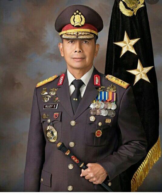 foto: Inspektur Jenderal Polisi Rudy Sufahriadi, Kapolda Sulawesi Tengah