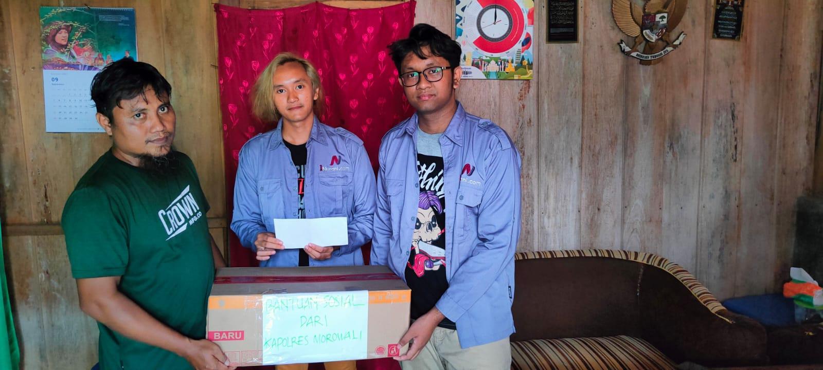 foto: Abd. Harits Haryanto dan Jurnalis Satunurani.com