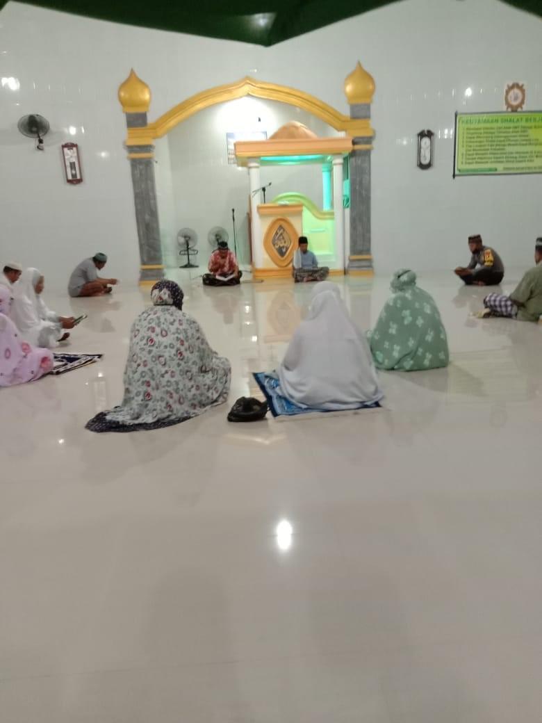 foto : Brigpol Muh Ridwan Hisyam Has Di Masjid Miftahul Jannah